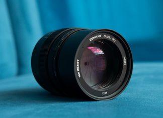 Il nuovo obiettivo Zenit 50mm F0.85