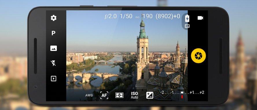 La fotocamera Android: Camera FV-5