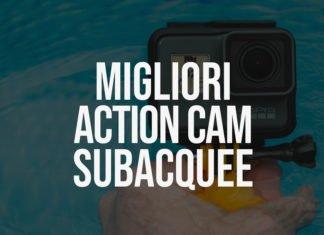 Classifica Miglior Action Cam Subacquea