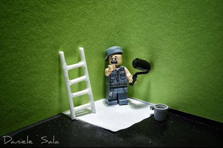 Lego Photography di Daniele Sala