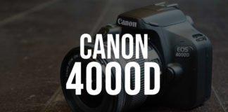 Recensione reflex Canon EOS 4000D