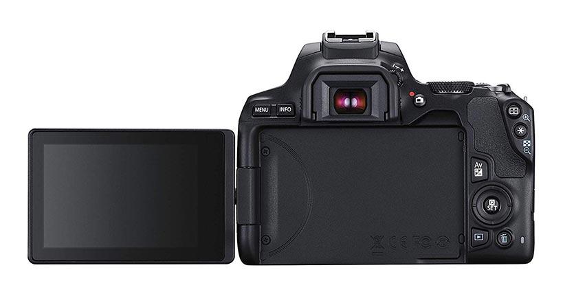 Schermo basculante della Canon 250D
