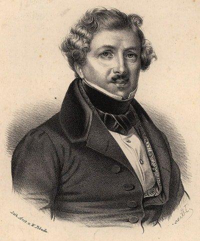 Il dagherrotipo di Louis Daguerre