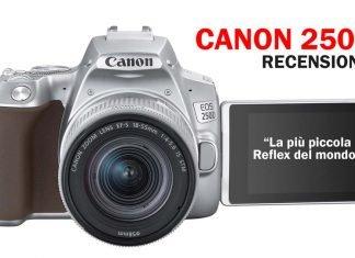 Canon 250D Recensione e caratteristiche