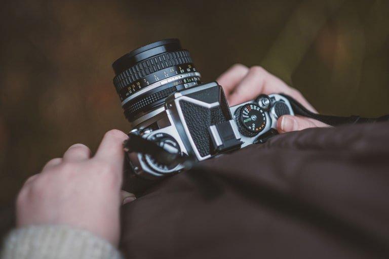 Impostiamo gli ISO nella fotocamera per la lunga esposizione