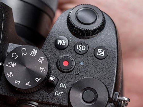 Pannello sopra la Panasonic Lumix G90