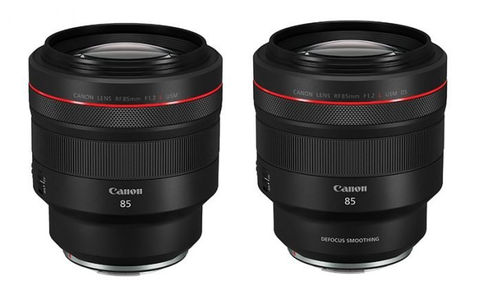 Canon RF 85mm novita