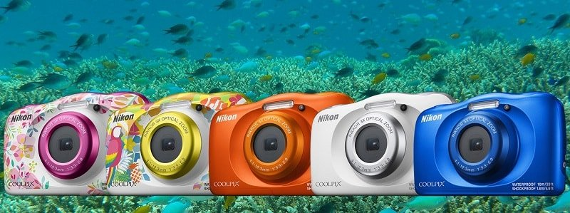 Colori disponibili per la Nikon Coolpix W150