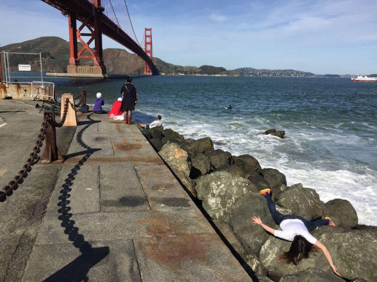 STEFDIES Golden gate bridge a San_Francisco