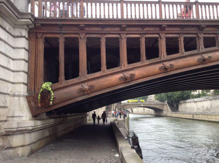 STEFDIES_sul ponte a parigi