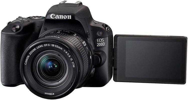 La Fotocamera Canon 200D