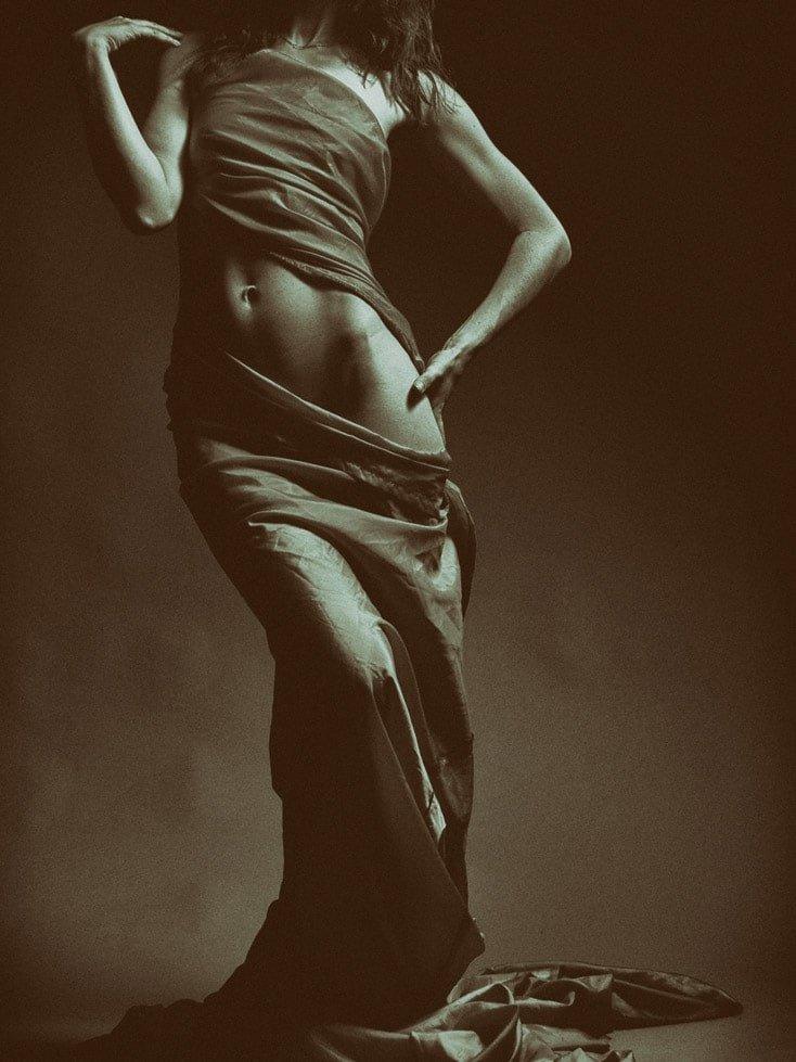 Esempio di fotografia boudoir