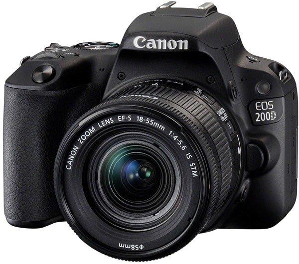La reflex Canon Eos 200D
