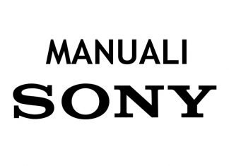 Manuali Fotocamere Sony