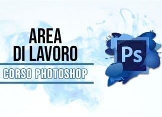 Area di lavoro di Photoshop