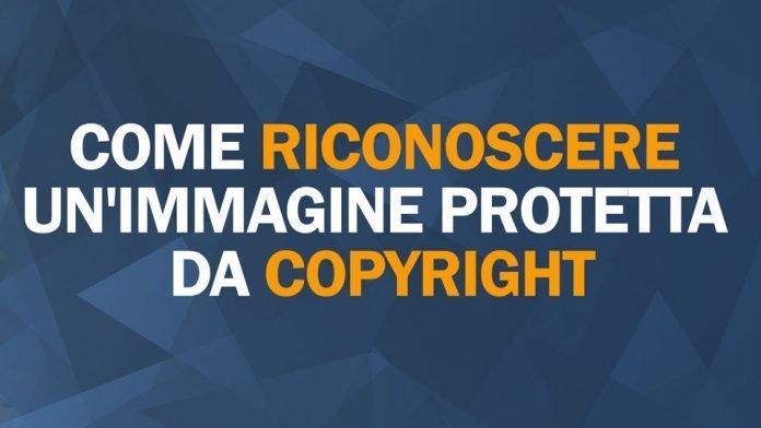Come riconoscere un'immagine protetta da copyright
