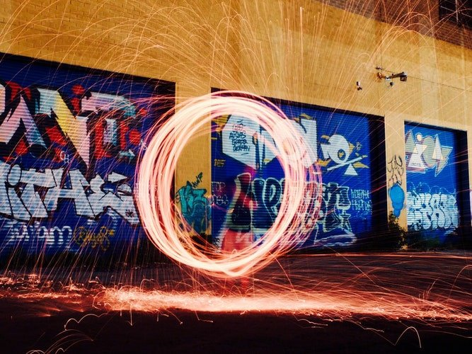 Foto in Light Painting