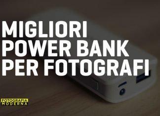 Migliori Power Bank per fotografi