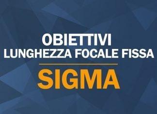 Obiettivi lunghezza focale fissa Sigma