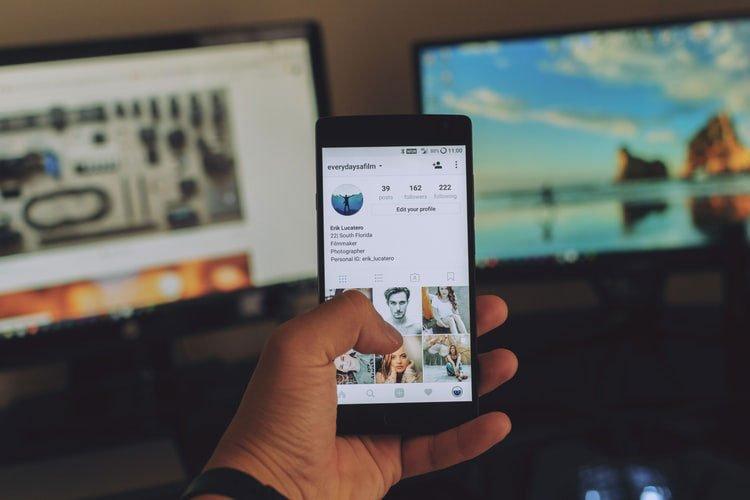 Portfolio su Instagram