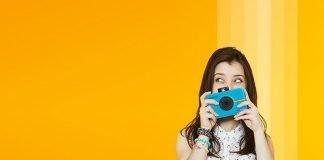 macchina fotografica istantanea per bambini