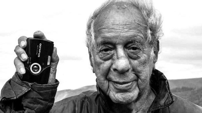Il fotografo Robert Frank