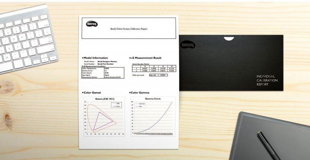 Calibrazione del monitor BenQ