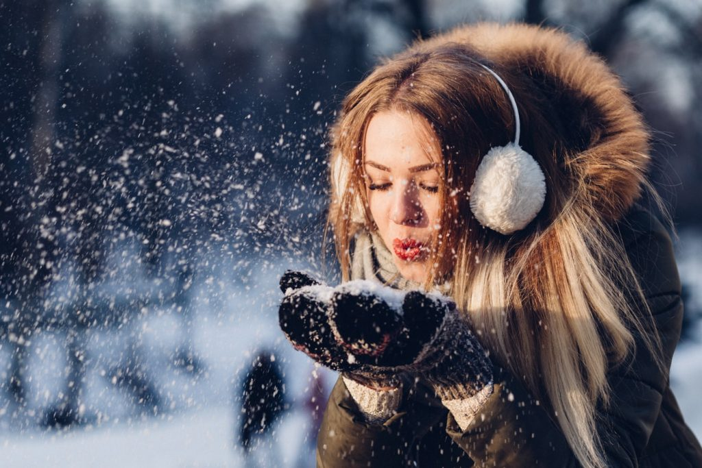 Fotografare la neve che cade