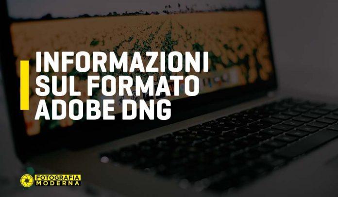 Informazioni sul formato dng