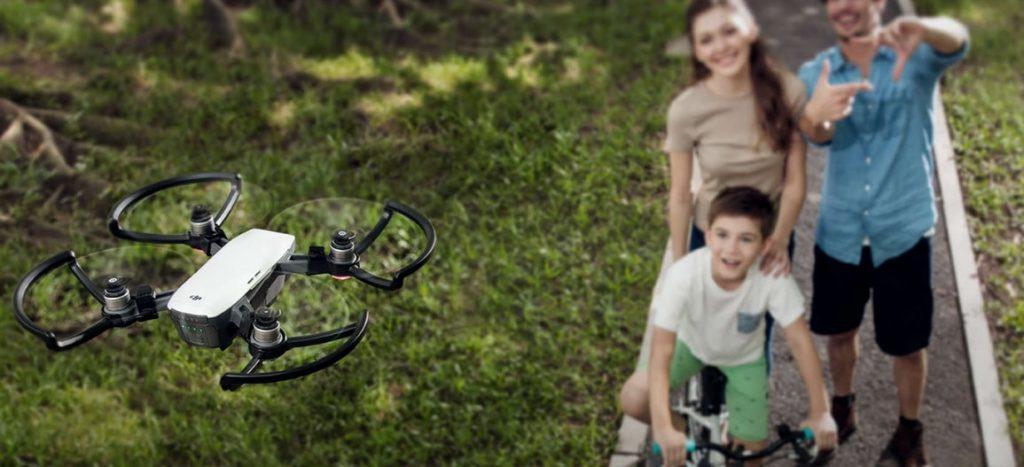 Fotocamera per droni