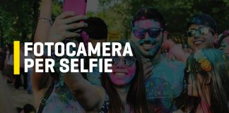 Fotocamera per selfie