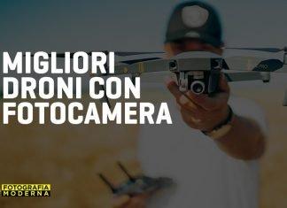 migliori droni con fotocamera