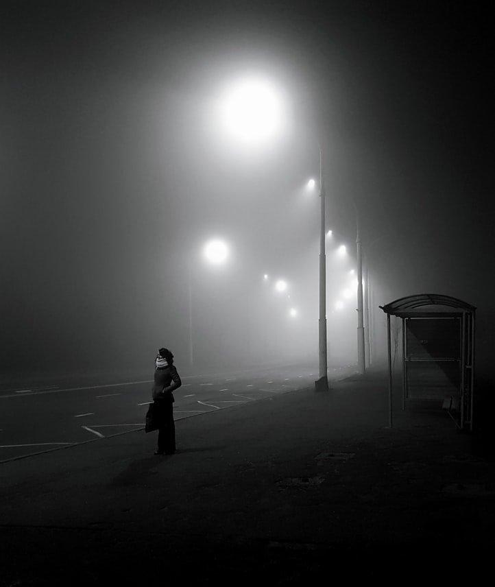 Fotografia nebbia autunnop