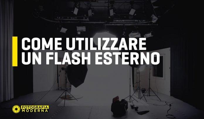 Come utilizzare un flash esterno