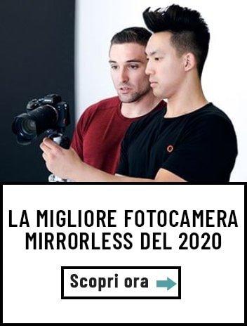 Migliore fotocamera mirrorless