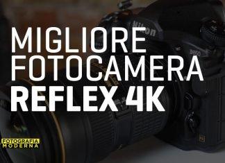 Miglior fotocamera reflex 4k