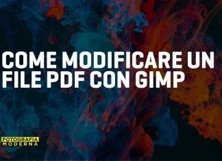 come modificare file pdf con gimp