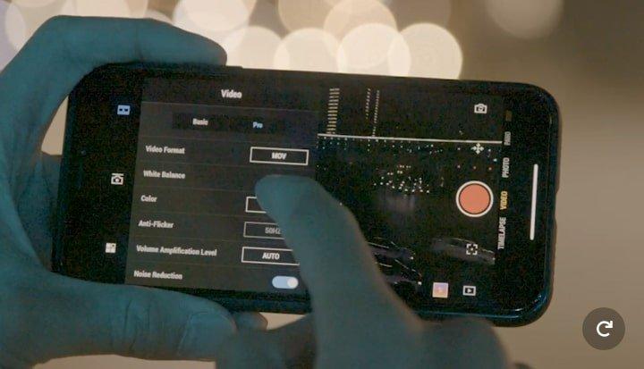 Dji Osmo pocket smartphone