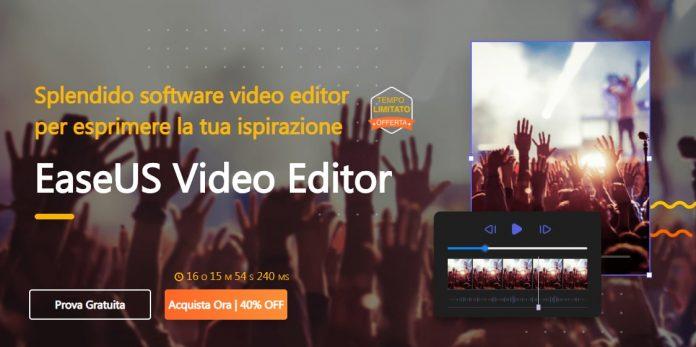 La recensione del programma Editor Video EaseUS