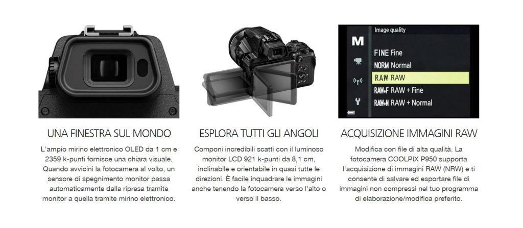 Caratteristiche Nikon Coolpix P950