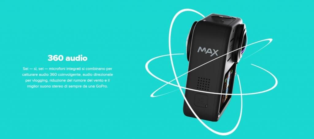 Audio GoPro Max