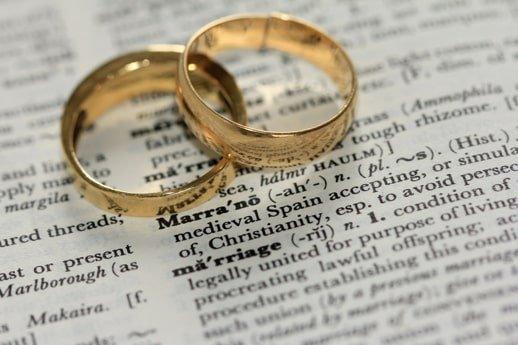 Anello foto matrimonio