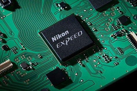 Processore delle migliori reflex Nikon