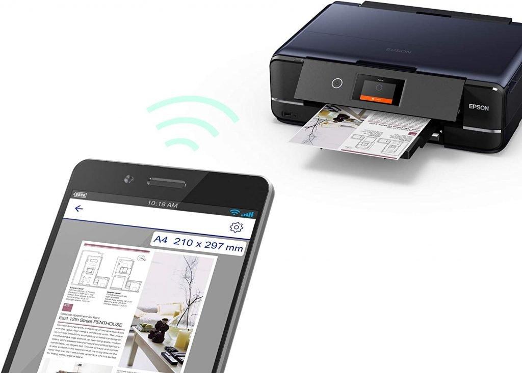 Stampante fotografia WiFi