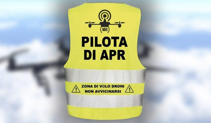 Gilet per piloti droni APR