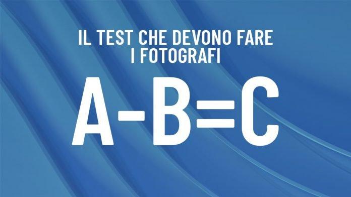 Test matematica fotografi