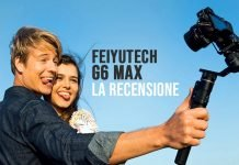 Feiyutech Recensione Gimbal G6 Max