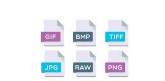 Formati file immagini