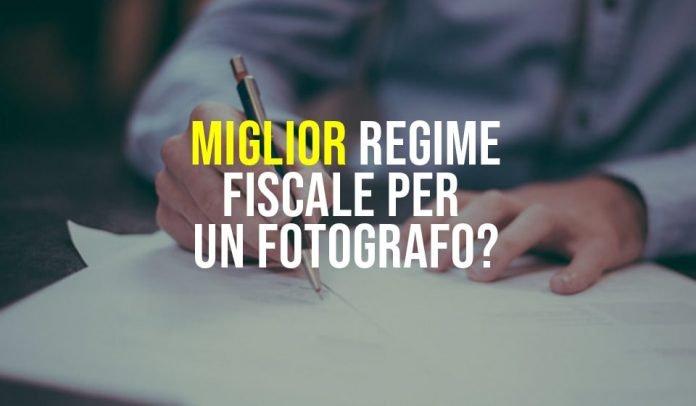 Regime fiscale fotografo