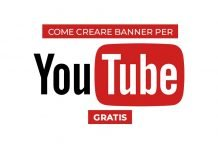 Come creare banner per youtube